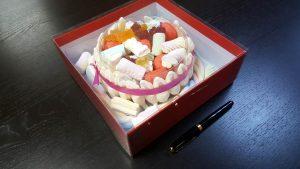 Cutie de lux pentru tort, prajituri