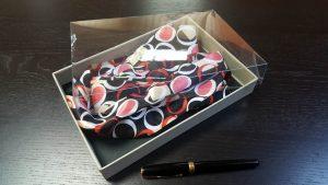 Cutie rigida pentru esarfe, cravate, bijuterii, accesorii