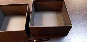 Cutie pentru produse cosmetice