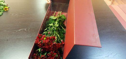 Cutii rigide de lux pentru ambalat flori