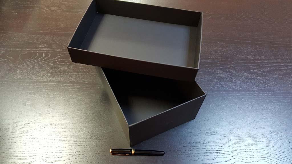 Cutia rigida cu capac pentru pantofi - 7