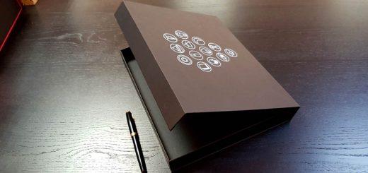 Cutie de lux cu inchidere magnetica