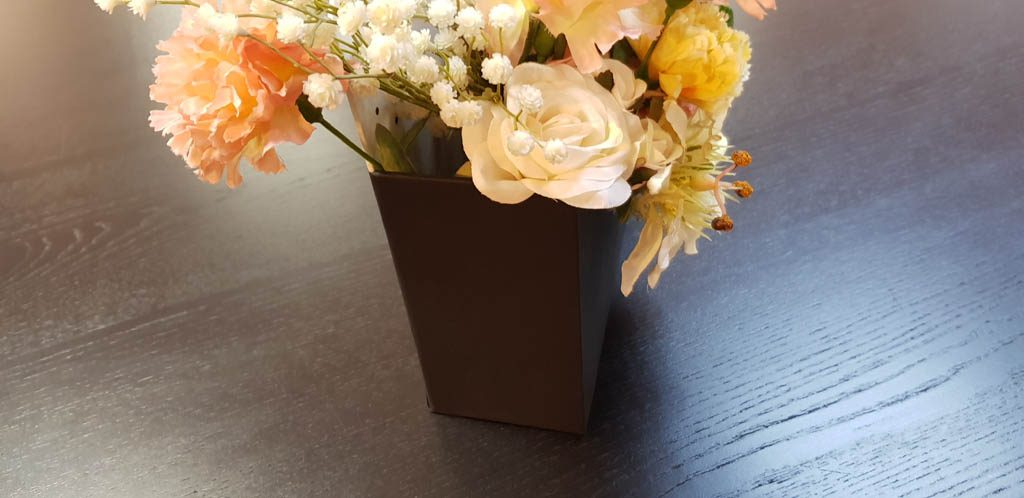 Cutie de lux in forma de plic pentru aranjamente florale - 11