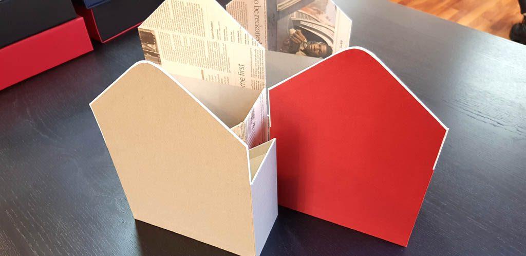 Cutie de lux in forma de plic pentru aranjamente florale - 14