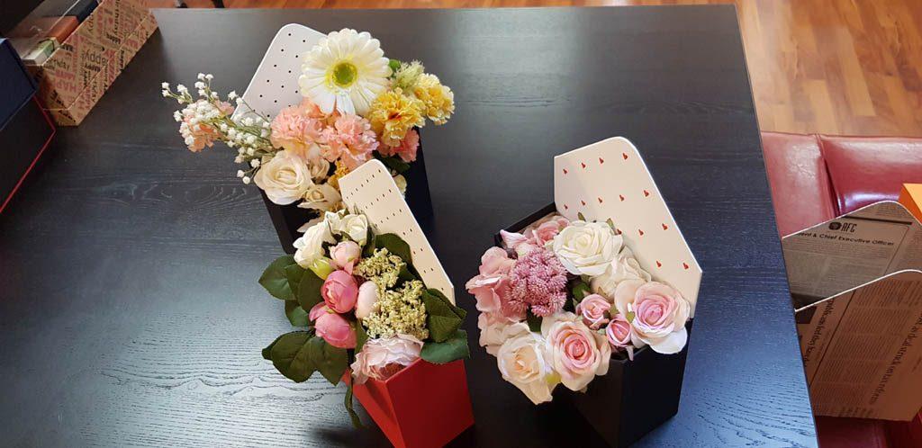 Cutie de lux in forma de plic pentru aranjamente florale - 2