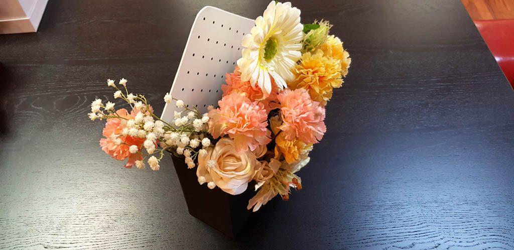 Cutie de lux in forma de plic pentru aranjamente florale - 6