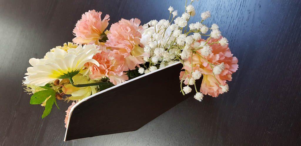 Cutie de lux in forma de plic pentru aranjamente florale - 7