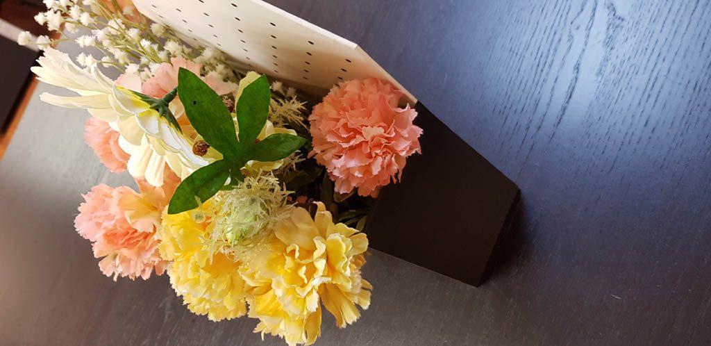 Cutie de lux in forma de plic pentru aranjamente florale - 8