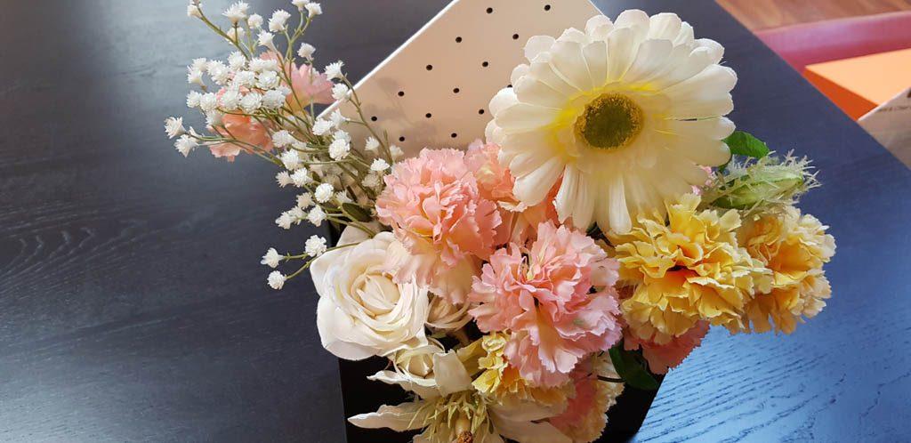 Cutie de lux in forma de plic pentru aranjamente florale - 9