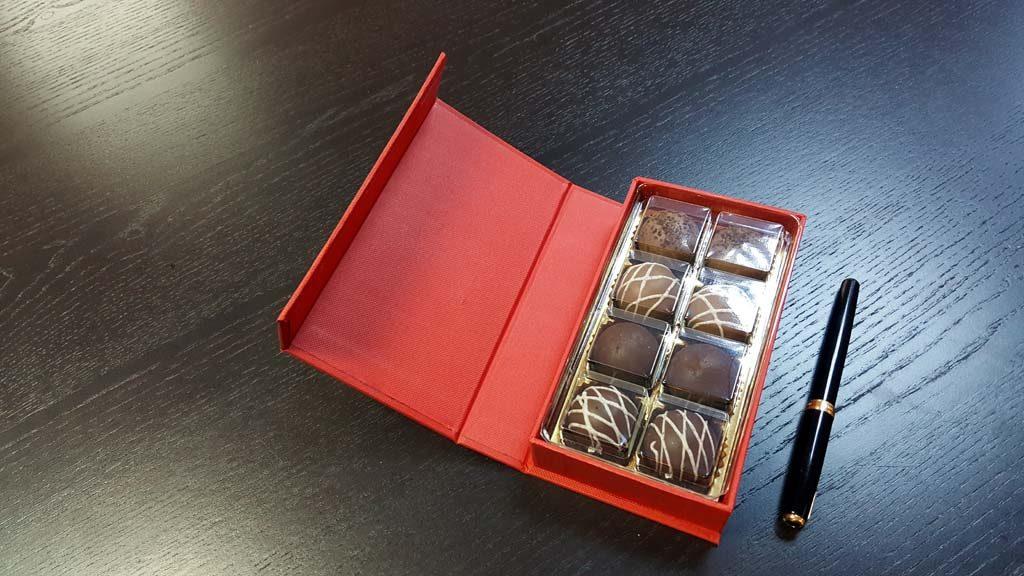 Cutie de lux pentru 8 praline - 3