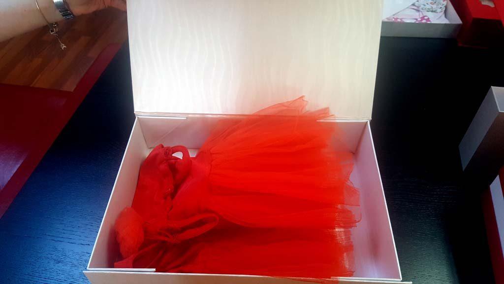 Cutie de lux pentru rochite - 1