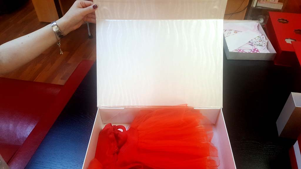 Cutie de lux pentru rochite - 4