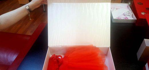 Cutii de lux pentru rochite