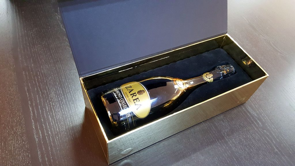 Cutie de lux pentru sticle - 9