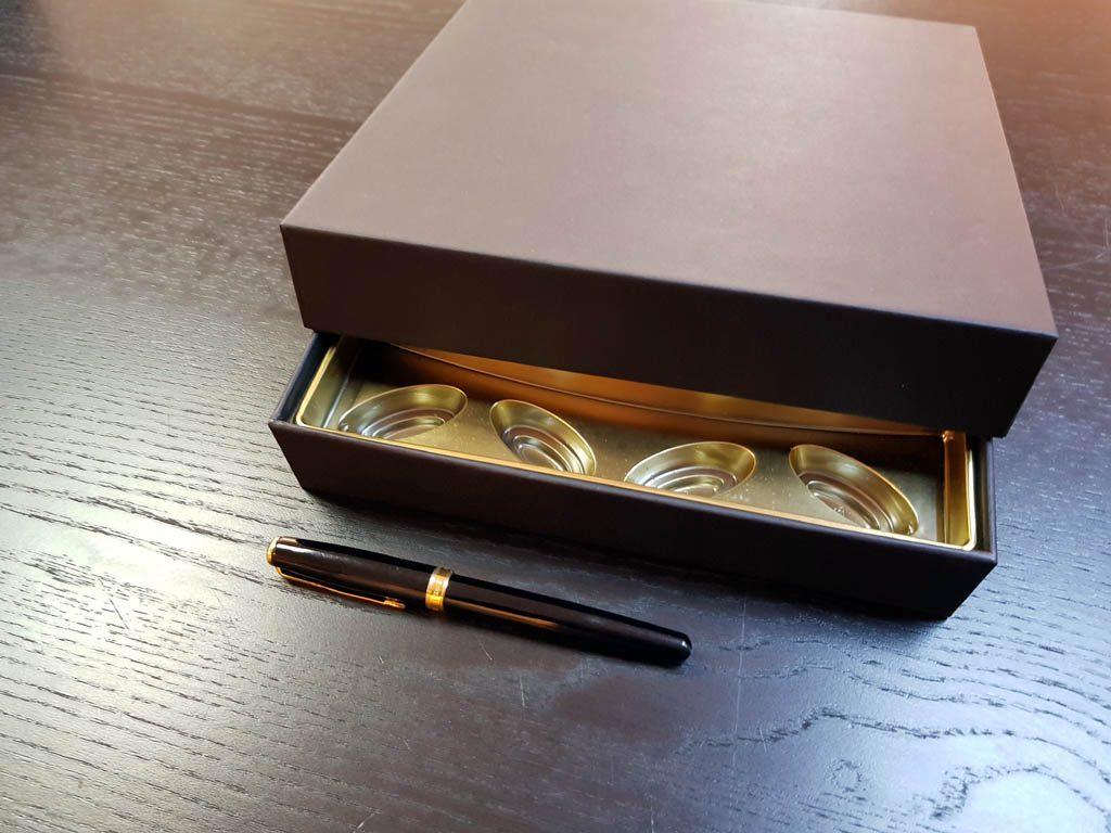 Cutie rigda cu capac pentru praline - 4