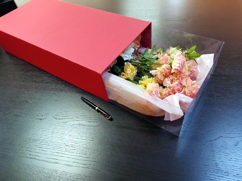 Cutie rigida de lux pentru flori - 2