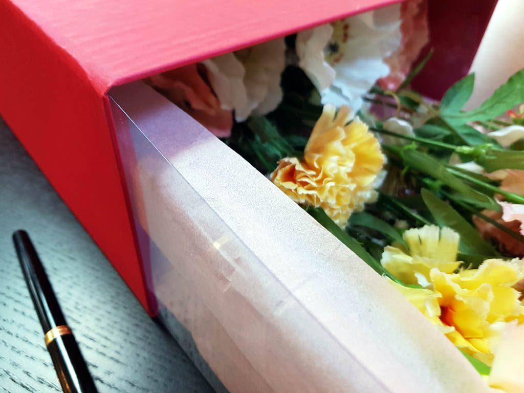 Cutie rigida de lux pentru flori - 3