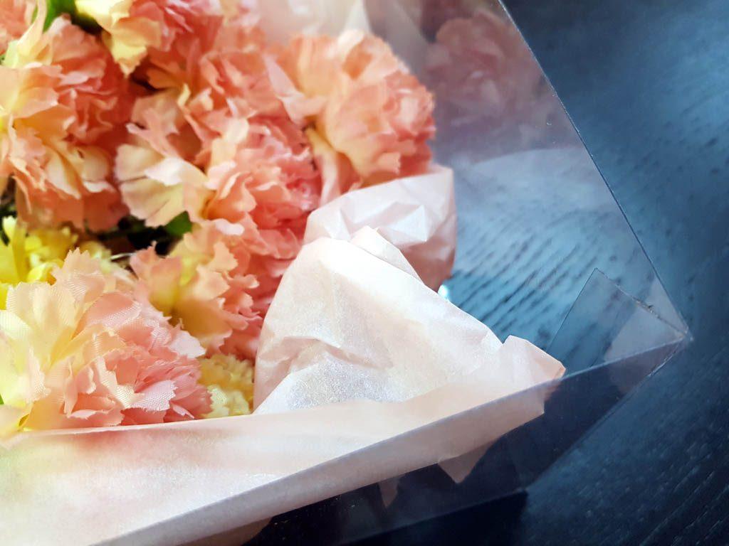 Cutie rigida de lux pentru flori - 9