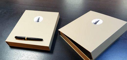 Cutie rigida cu magnet pentru albume – mod de inchidere (video)