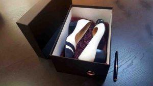 Cutie rigida pentru pantofi eleganti