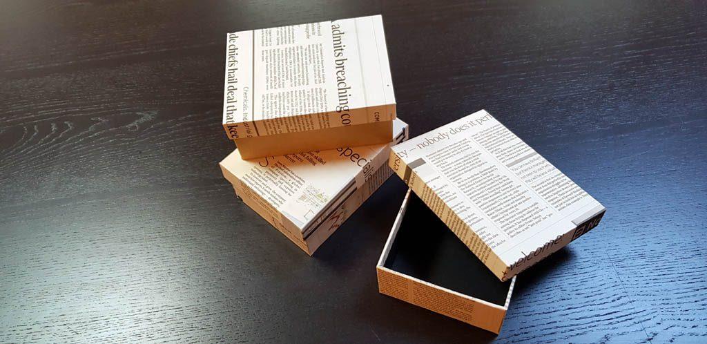 Cutie rigida pentru papion -1