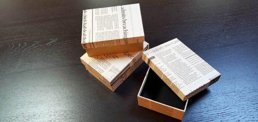 Cutie rigida pentru papion