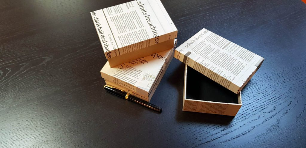 Cutie rigida pentru papion - 3