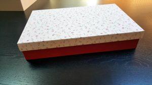 Cutie speciala pentru textile