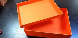 Cutii rigide pentru genti de piele si alte accesorii de lux