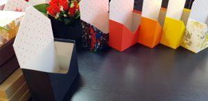 Cutie de lux in forma de plic pentru aranjamente florale (model 6069-6073)