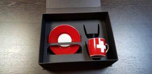 Cutie de lux cu magnet pentru set cesti
