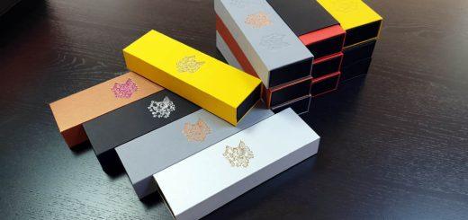 Cutie de lux pentru stilouri, pixuri etc (model 6086)